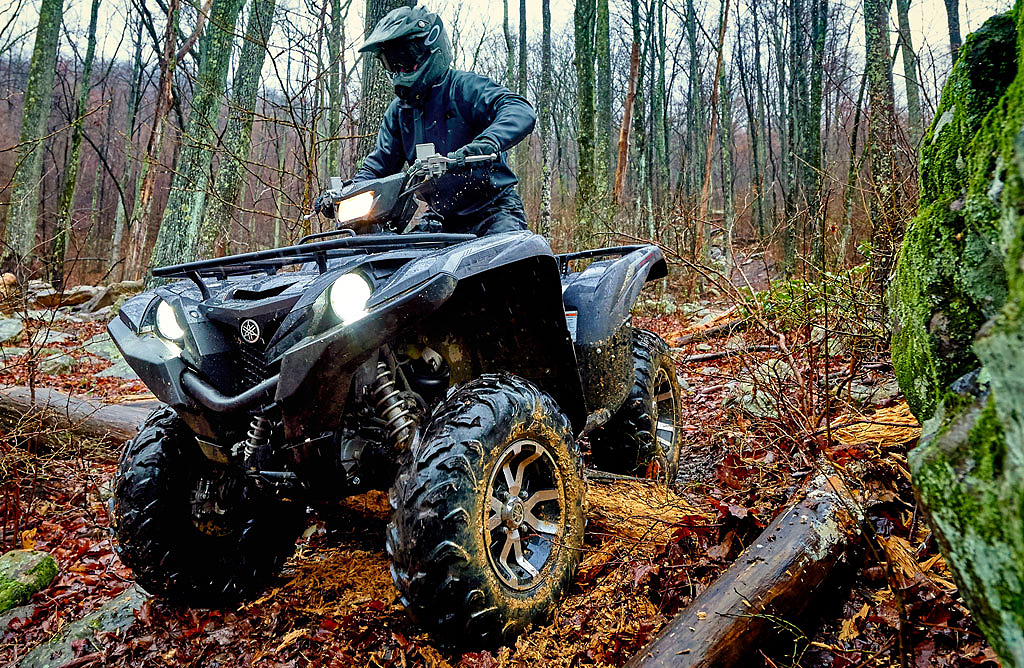 Yamaha Kodiak With Tracks