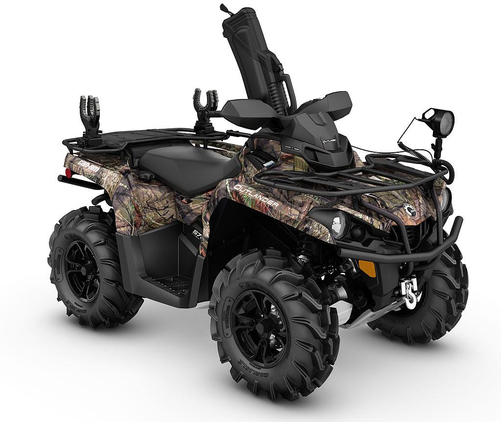 Outlander 570 quadjournal hunter modell ge
