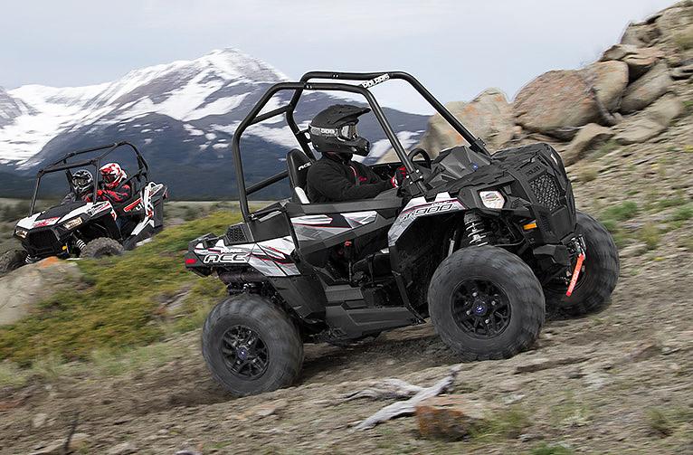 Der Polaris ACE 900 SP mit Zweizylindermotor und 60 PS leistung.