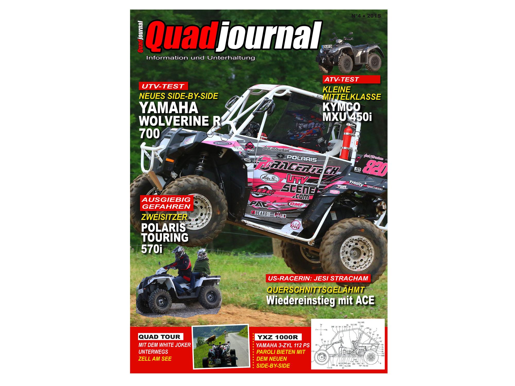 Das neue Quadjournal - liest du schon oder kaufst du noch?