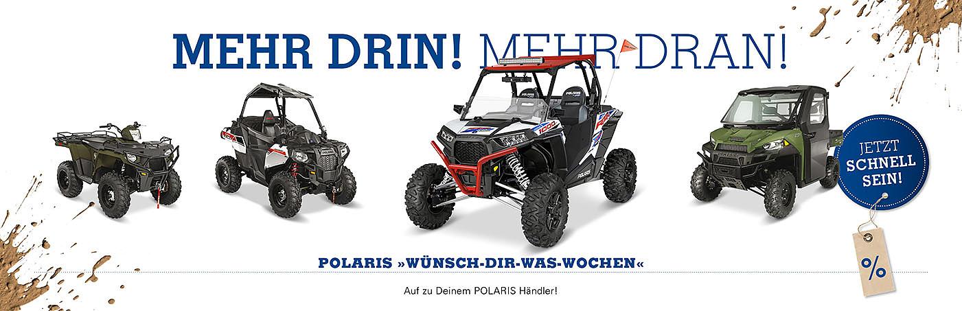 """""""Wünsch-dir-was-Wochen"""" bei Polaris."""