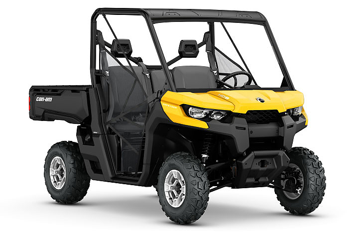 Can-Am Defender UTV: In den USA ab 10.999 Dollar zu haben.