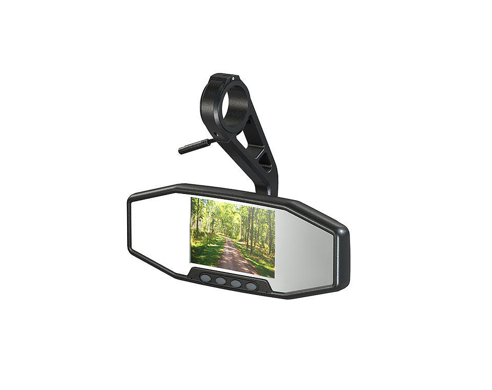 RZR Kameraspiegel nimmt gleichzeitig nach vorne und hinten auf.