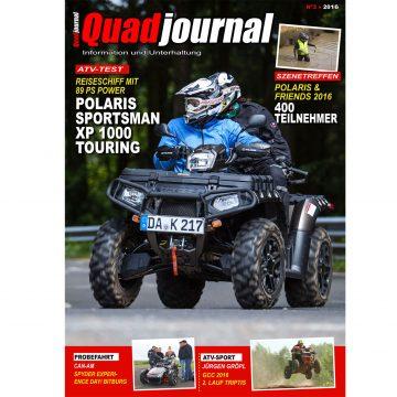 Neu: Quadjournal Ausgabe 3 in 2016
