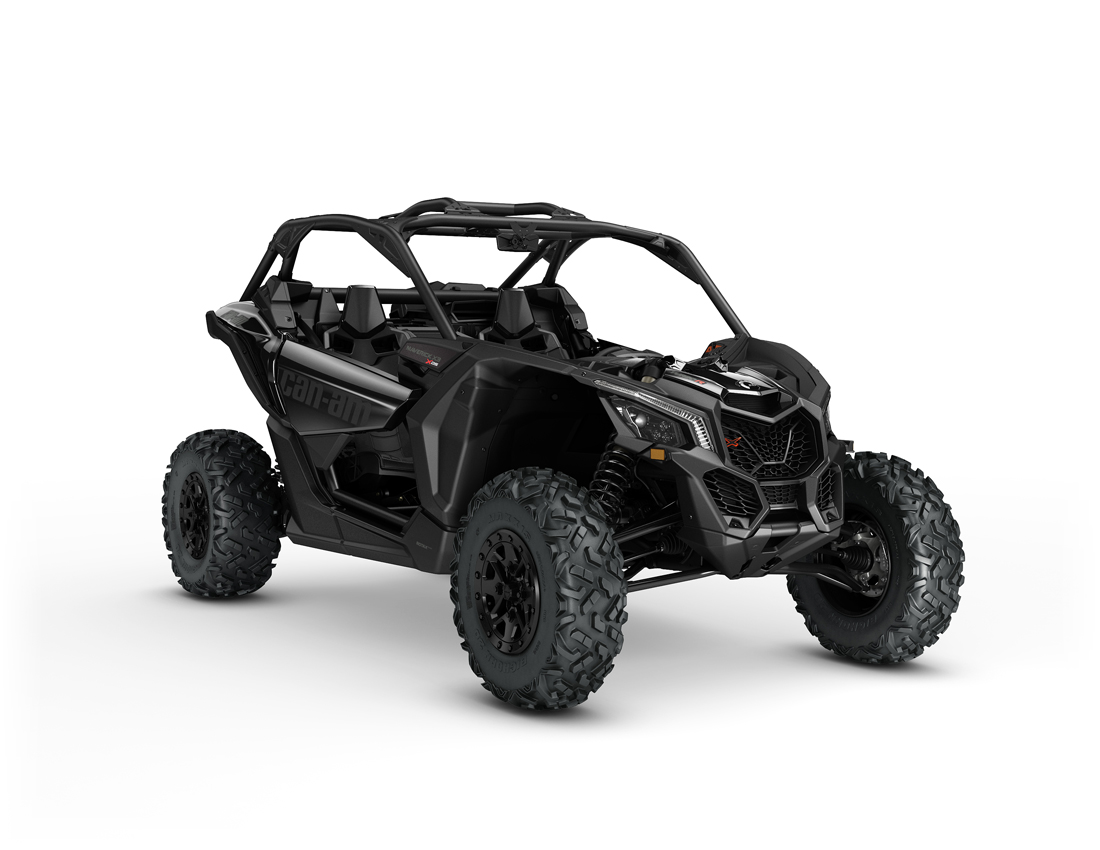 Can-Am Maverick X3 X ds Turbo Triple Black.