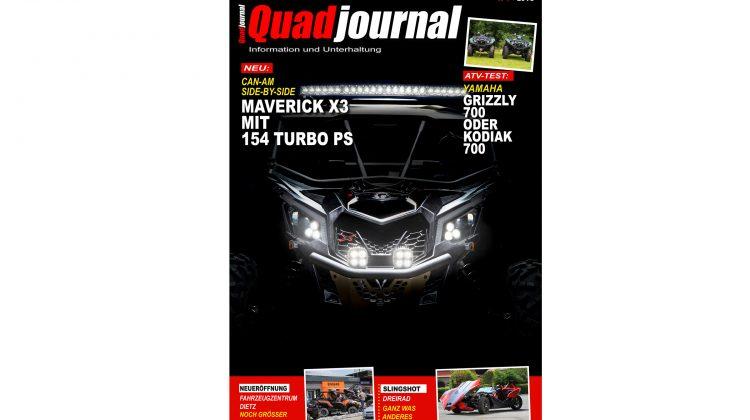 Titelbild: Quadjournal Ausgabe 4 2016
