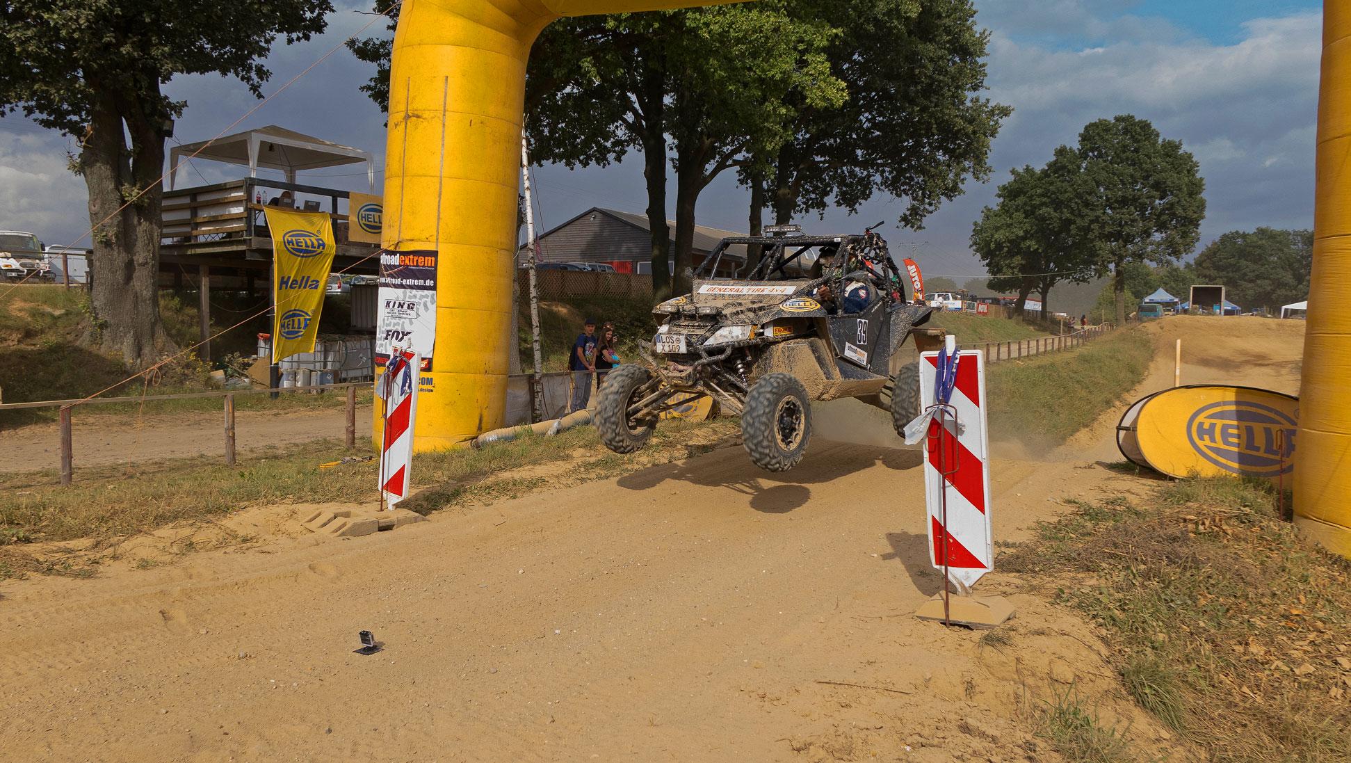 Zielsprung: Von der Marwitz hat sein Wunschergebnis nach 12 Stunden erreicht.
