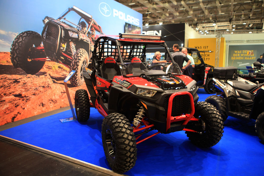 Intermot 2016: Polaris RZR Turbo XP 1000 mit 168 PS Leistung.