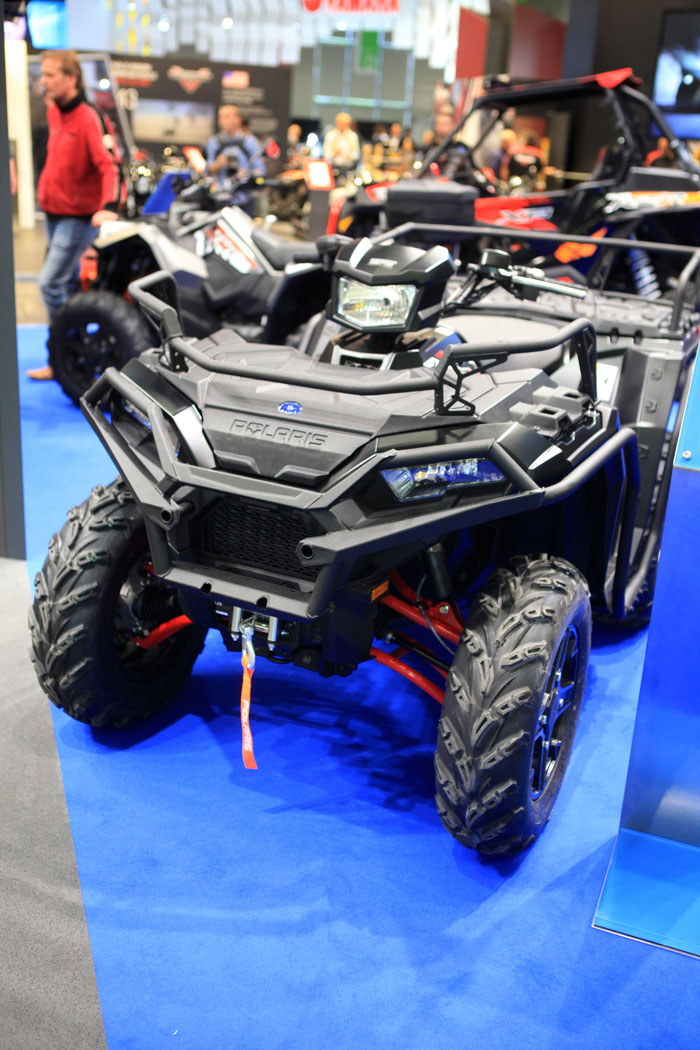 Intermot 2016: Polaris Sportsman XP 1000 mit 90 PS Leistung.